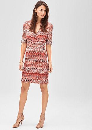 Cache Coeur-Kleid aus Mesh