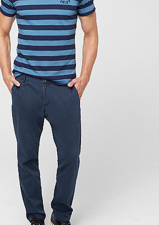 Cane Slim: Stretchige Twill-Hose