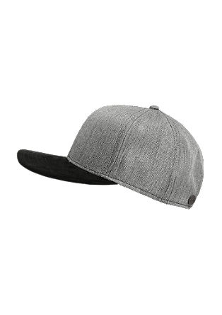 Cap in a mix of materials from s.Oliver