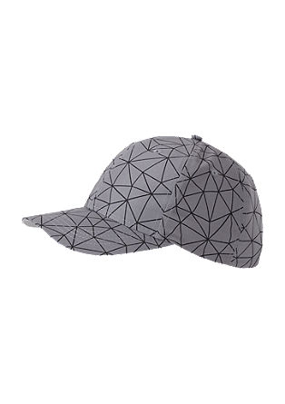Cap with an all-over print from s.Oliver