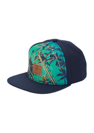 Cap with palm print from s.Oliver