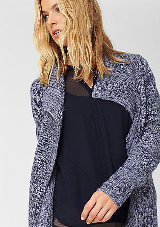 Cardigan in a mix of textures from s.Oliver