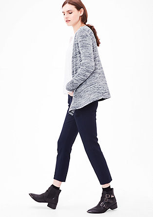 Cardigan in a mottled design from s.Oliver