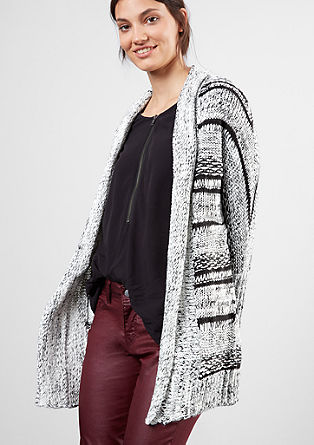 Cardigan in a textured knit from s.Oliver
