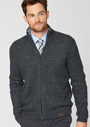 Cardigan with a percentage of cashmere from s.Oliver