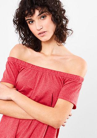 Carmen-Shirt aus softem Jersey