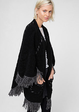 Casual bouclé cardigan from s.Oliver