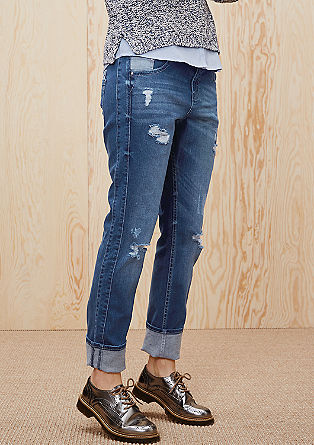Casual Boyfriend: distressed jeans from s.Oliver