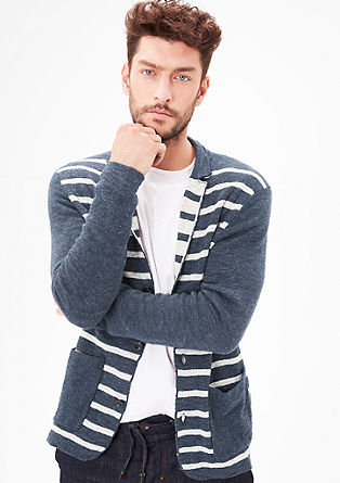 Casual cardigan in a jacket look from s.Oliver