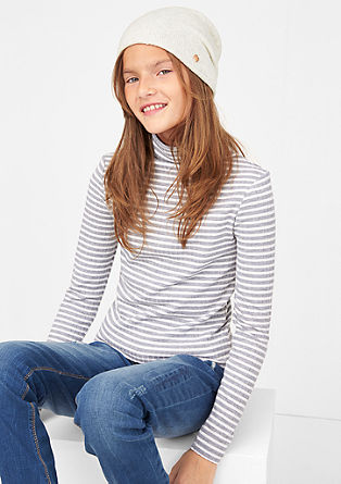 Casual fine knit hat from s.Oliver