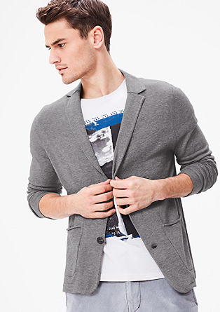 Casual knit jacket from s.Oliver
