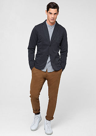 Casual tailored jersey jacket from s.Oliver