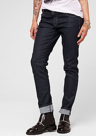 Catie: Jeans aus Raw Denim
