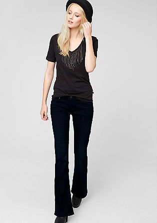 Catie Bootcut: dark jeans from s.Oliver
