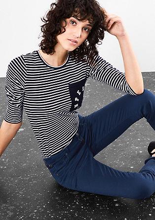 Catie slim: coloured jeans