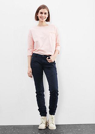 Catie slim: Coloured joggingbroek