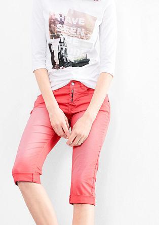Catie Slim: Hose in 7/8-Länge