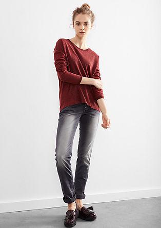 Catie Slim: Jeans mit Farbeffekt