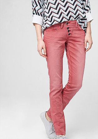 Catie Slim: Ozke hlače obrabljenega videza