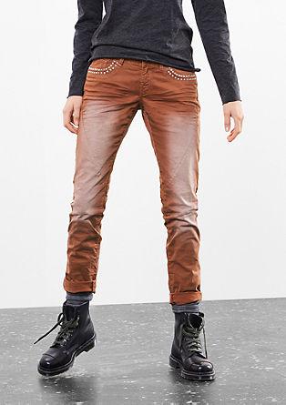 Catie Slim: Raztegljive hlače s kovicami