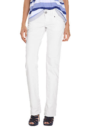 Catie Straight: Straight jeans with a low rise waist from s.Oliver