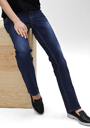 Catie Straight: Stretch-Jeans