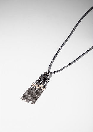 Chain with ethnic-look tassel from s.Oliver