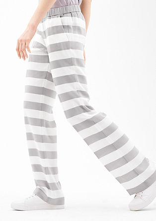 Charlotte wide: luchtige crêpe broek