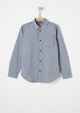 Check cotton shirt from s.Oliver