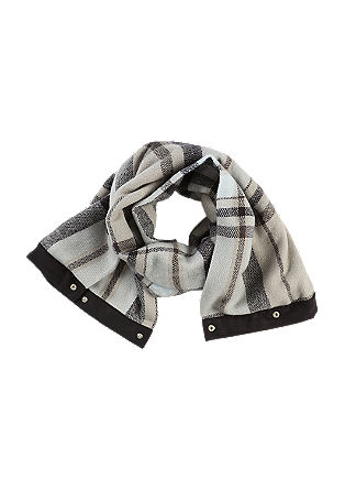 Check scarf, can be worn as a snood from s.Oliver