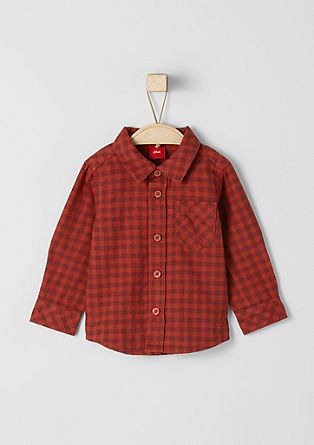 Checked Oxford shirt from s.Oliver