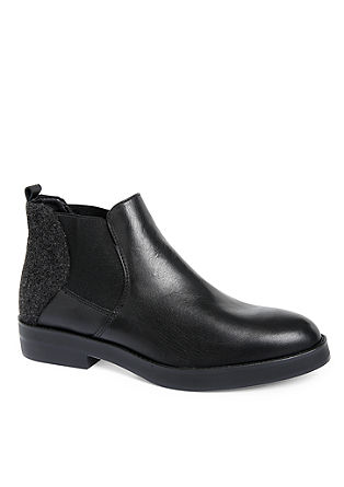 Chelsea-Boots in Materialmix