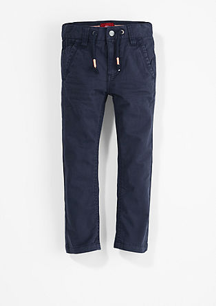 Chino Relaxed: Cloth trousers with a waistband from s.Oliver
