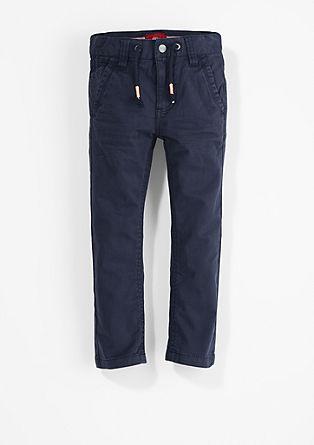 Chino Relaxed: pantalon met koord