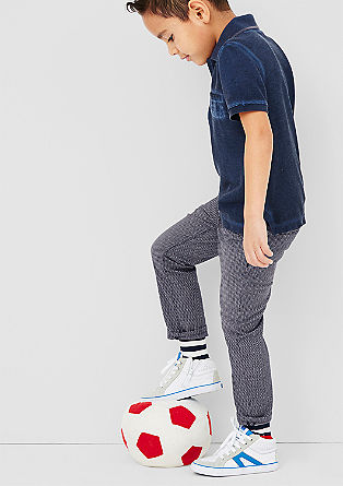 Chinos: cloth trousers with a pattern from s.Oliver