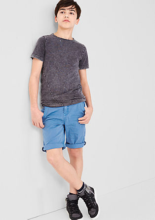 Chinos: coloured Bermudas from s.Oliver
