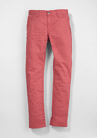 Chinos: colourful cloth trousers from s.Oliver