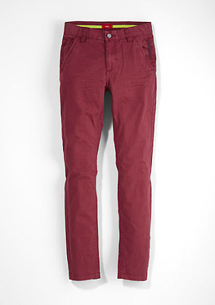 Chinos: garment-dyed jeans from s.Oliver