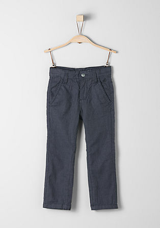 Chinos: lightweight twill trousers from s.Oliver