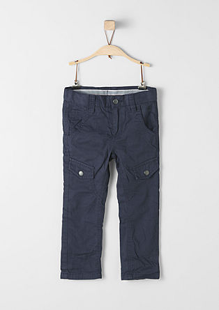 Chinos: Lined cloth trousers from s.Oliver