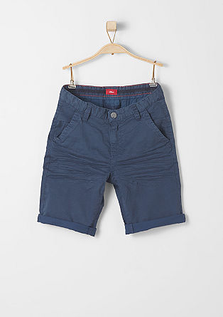 Chinos: patterned Bermudas from s.Oliver