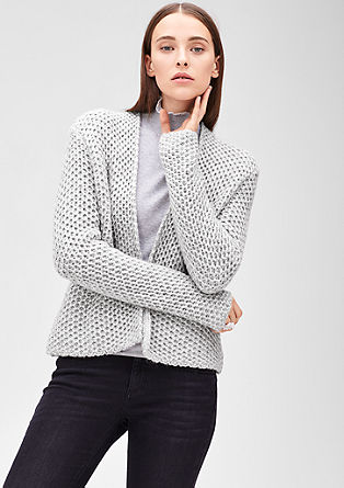 Chunky knit cardigan from s.Oliver