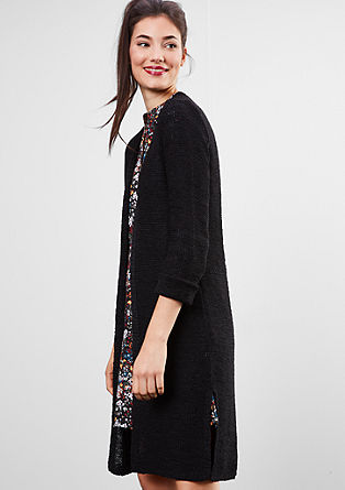 Chunky knit long cardigan from s.Oliver