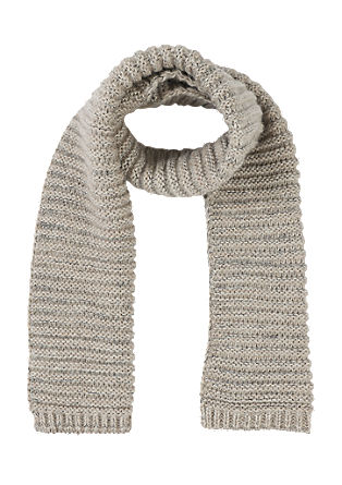 Chunky knit scarf with a glitter effect from s.Oliver