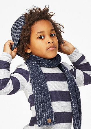 Chunky rib knit hat from s.Oliver