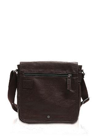 City Bag mit Canvas-Schultergurt