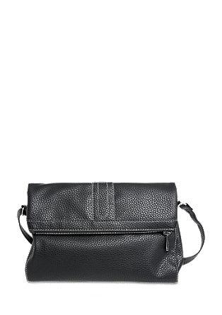 City Bag mit glänzendem Zipper