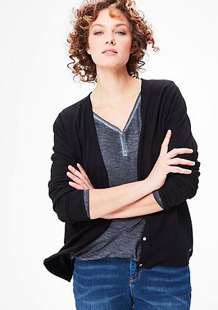 Classic fine knit cardigan from s.Oliver