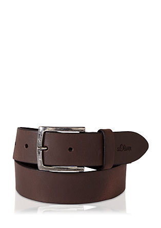 Classic leather belt from s.Oliver
