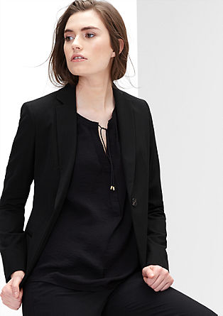Classic stretch blazer  from s.Oliver